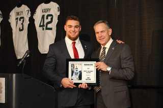 Joe Bachie named MSU Football team MVP