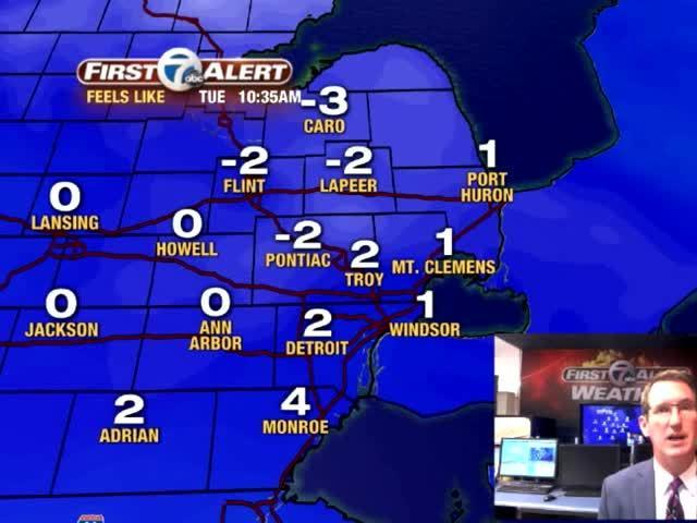 Metro Detroit Forecast: Winter Weather Advisory