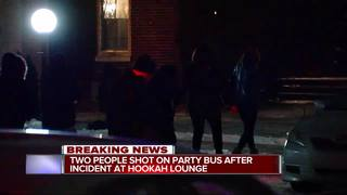 2 injured after Highland Park party bus shooting