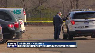 Sterling Heights on edge over 3 recent murders