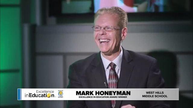 Excellence in Education Mark Honeyman