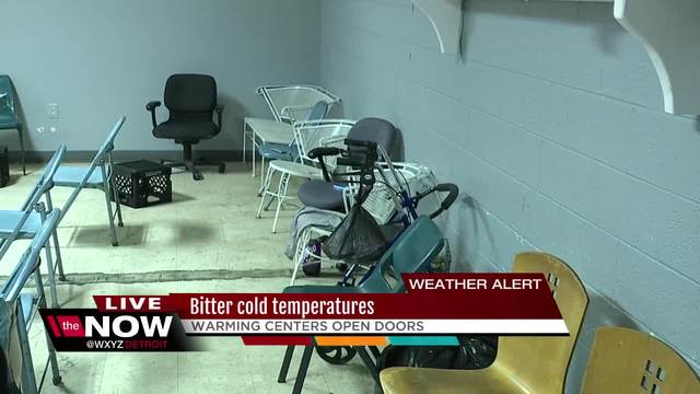 Complete list of warming shelters for the homeless in Detroit