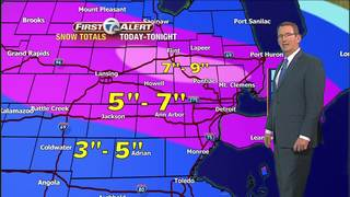 FORECAST: Winter Storm Warning ends