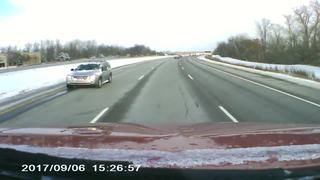 Dash cam video shows moments before deadly crash
