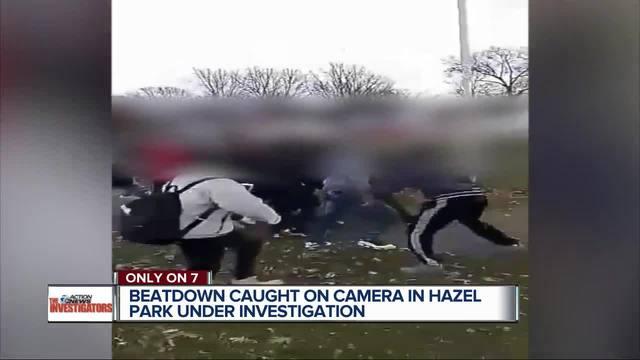 Beatdown caught on camera in Hazel Park under investigation