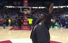 WATCH: Hawks fan hits half-court shot, wins $10K