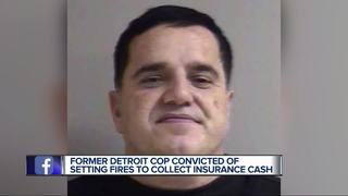 Former Detroit police officer convicted of arson