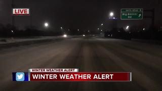LIVE TRAFFIC: Snowfall causing delays on roads