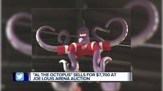 'Al the Octopus' fetches over $7K at JLA auction