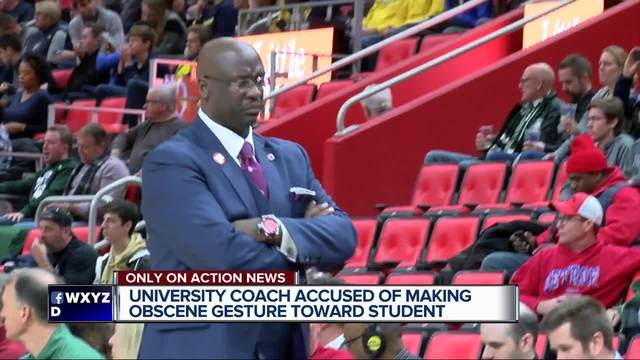 UDM coach under fire for alleged obscene comment