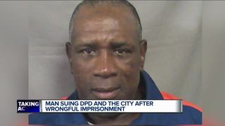 Wrongfully convicted man files federal lawsuit