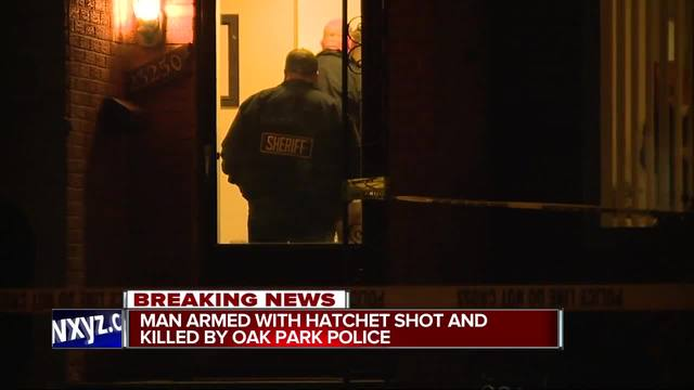 Oak Park police investigating fatal officer involved shooting