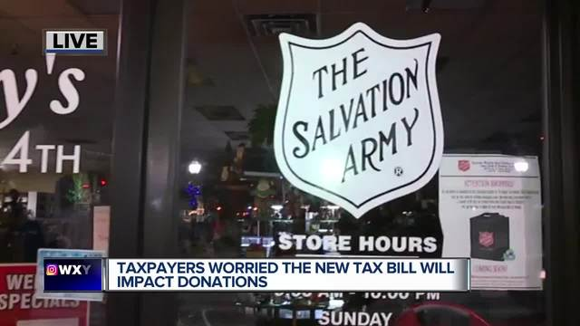 Charities see rush of donations ahead of GOP tax plan change