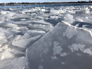 PHOTOS: St. Clair River ice blockage