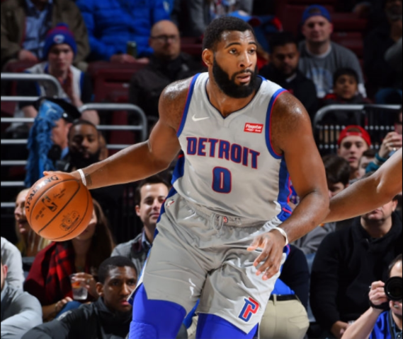 Andre Drummond replacing John Wall in All-Star game