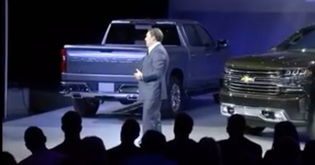 Chevrolet Reveals 2019 Silverado 1500 at North American International Auto Show
