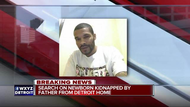 Detroit police searching for missing newborn taken by her father