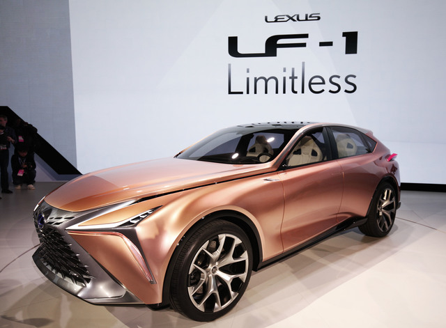 Lexus LF-1 Limitless Concept Previews the Brand's Design and Powertrain Future