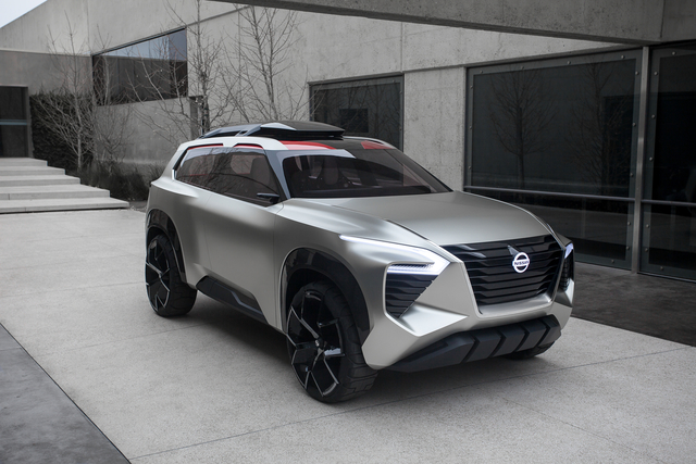 Nissan Xmotion sports blocky good looks, previews new SUVs