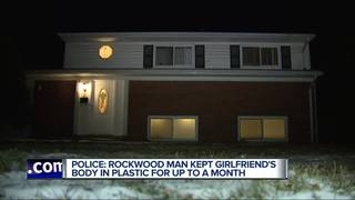 Police: Man hid girlfriend's body for a month