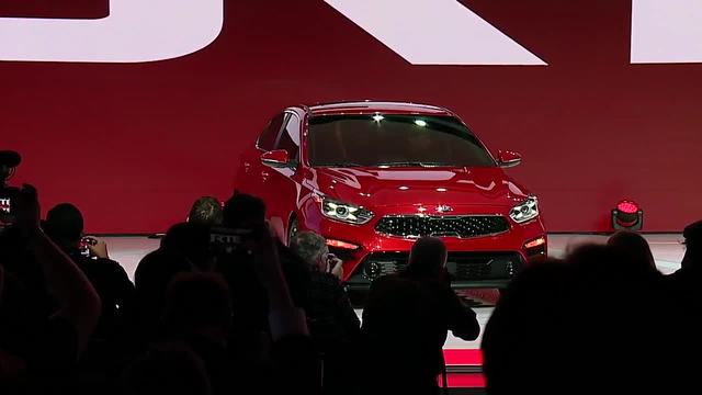 Kia reveals new Forte at Detroit auto show