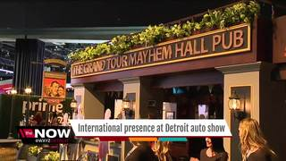 NAIAS goes international with special displays