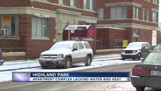 Highland Park tenants have no heat or water
