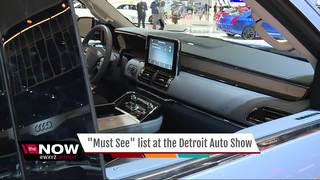 What are the 'must sees' at the NAIAS