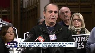Man takes refuge in church to avoid deportation