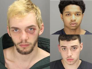Three charged in Pontiac double homicide