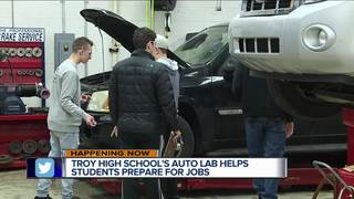 Troy students get rare skill trades opportunity