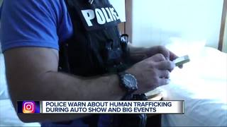 DPD targets human traffickers during auto show