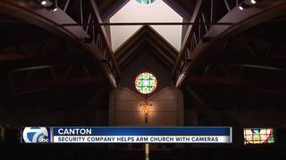 Security system donated to robbed church