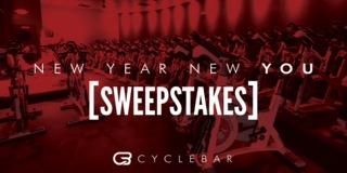 Cyclebar New Year New You Sweepstakes