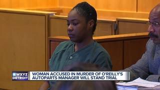 Woman to stand trial in O'Reilly's murder