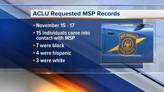 ACLU calls for MSP to investigate traffic stops