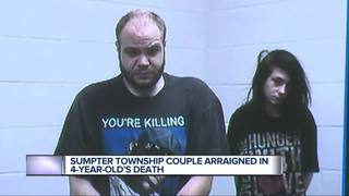 Couple charged in 4-year-old's death