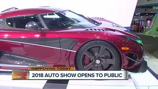 Annual Auto Show opens to public Saturday