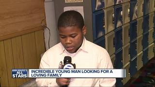 Ann Marie's All Stars: Tyquan wishes for family