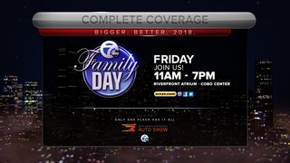 Join us for Channel 7 Family Day at auto show