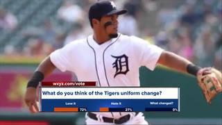 Detroit Tigers change uniform Olde English 'D'