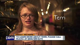Grant Me Hope: Terri likes puppies and travel