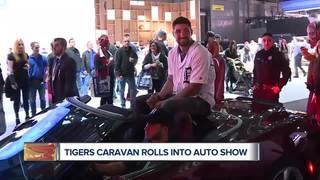 Tigers players go 'car shopping' at NAIAS