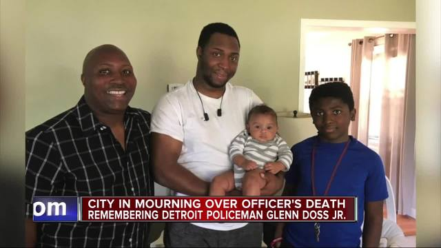 Detroit police mourn officer who dies days after being shot