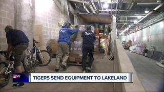 Tigers pack up spring training trucks