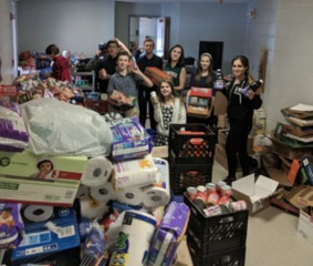 School & moving company team up to help others