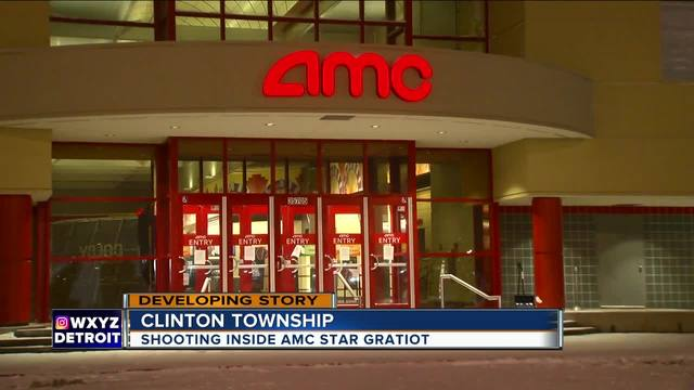 Argument leads to shooting inside Clinton Township movie ...