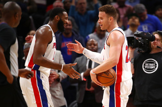 Drummond, Griffin lead Pistons over Nets