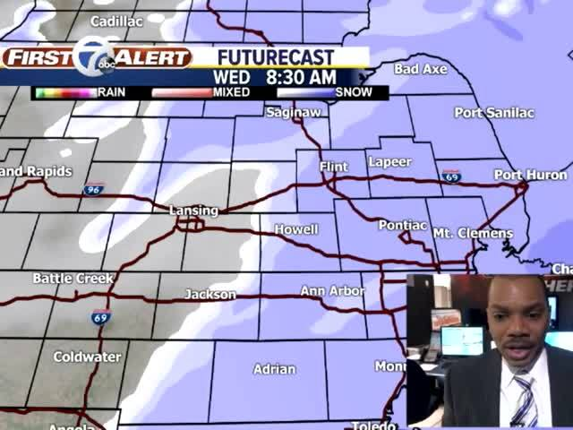 Madison area expected to get 3 to 5 inches of snow