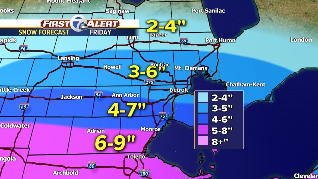 Travel to be slowed by winter storm in Chicago, northern IL
